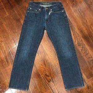 American Eagle Jeans Dark Wash Straight Sz 29/30